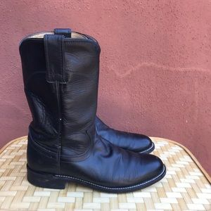 Justin Boots Cora Roper Leather soles 3703